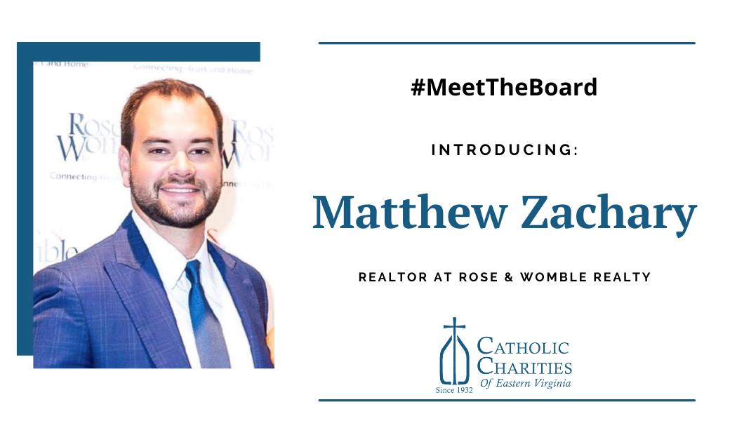 Board Spotlight: Matthew Zachary